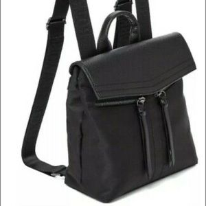 Botkier New York Mini Black Trigger Backpack NWT